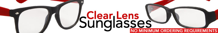 Clear Lens Sunglasses