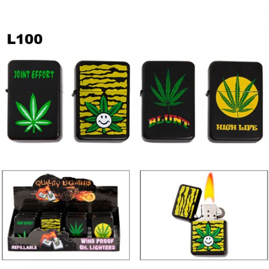 Pot Leaf Lighters