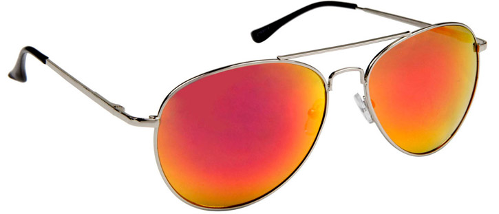 Colored Mirrored Aviators