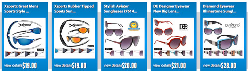 Best Selling Wholesale Sunglasses