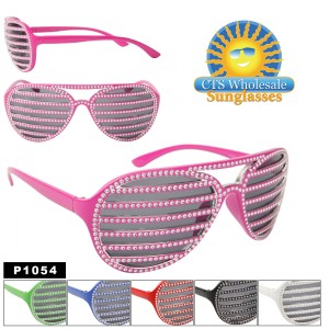 Shutter Shades with Bling