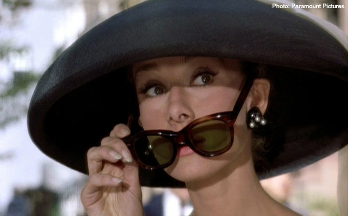 Sunglasses in the movies: Breakfast at Tiffany's - CTS Wholesale LLC.