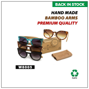 Trendy Wood Sunglasses
