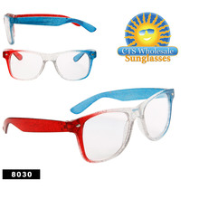 Clear Lens Sunglasses at CTS Wholesale Sunglasses