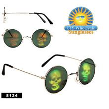 Skull Hologram Sunglasses