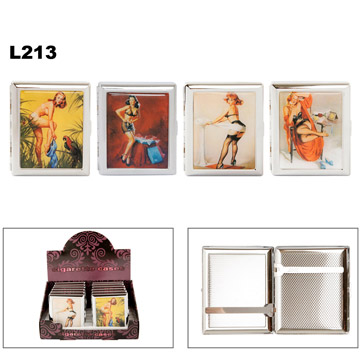 Pin Up Girls Cigarette Cases