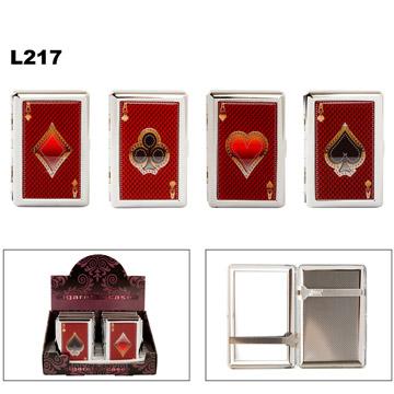 Aces of Suit Cigarette Cases