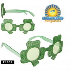 Shamrock Party Glasses