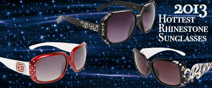 Rhinestone Sunglasses 2013 Hottest Styles