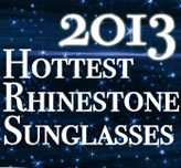 2013's Hottest Selling Rhinestone Sunglasses