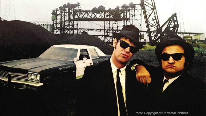 2c8a319dfd Sunglasses in the movies  The Blues Brothers - CTS Wholesale LLC.