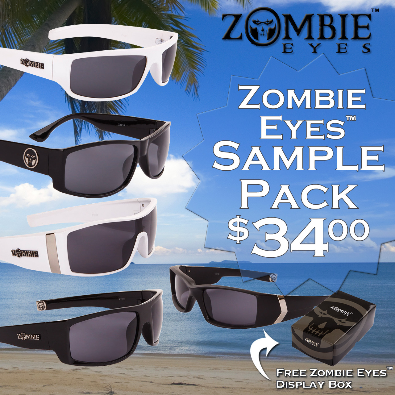Zombie Eyes™ Sample Pack